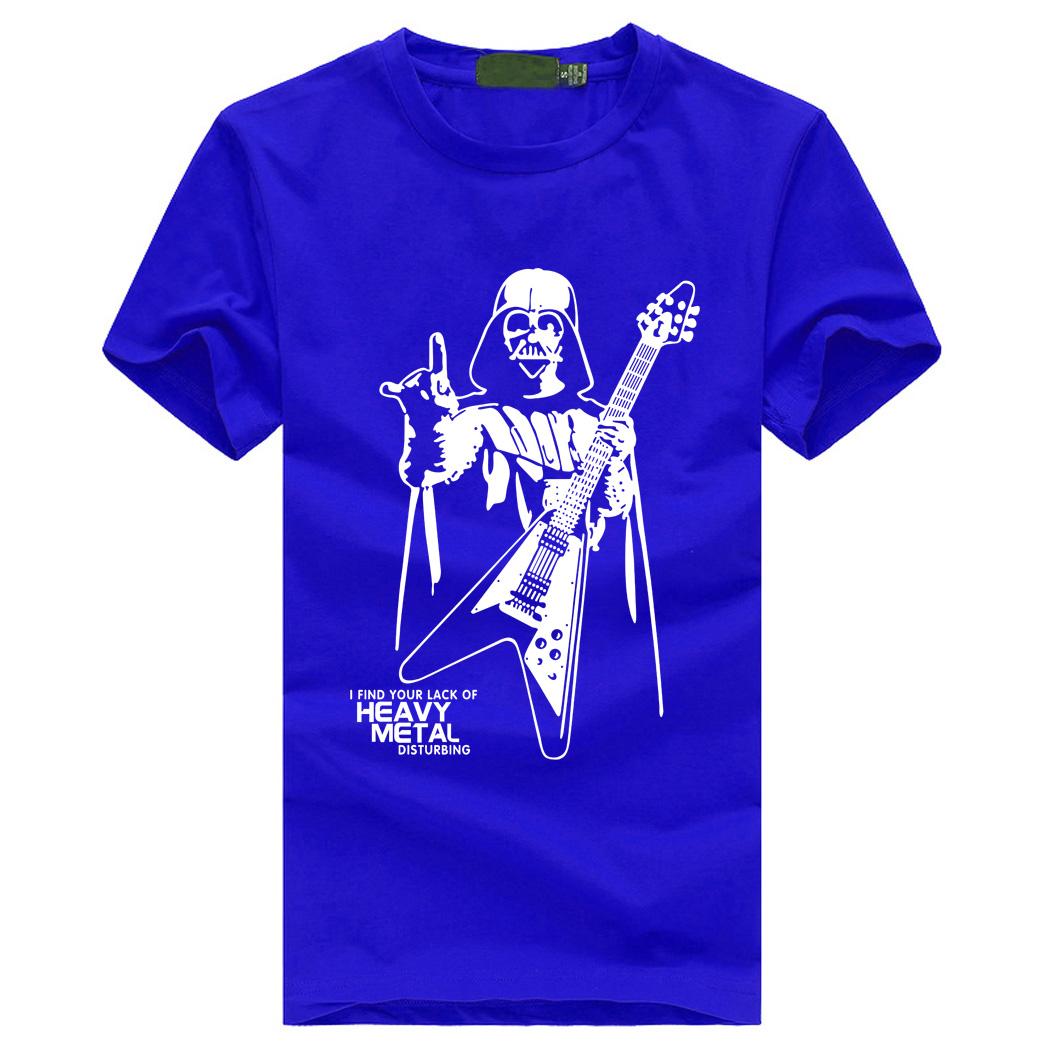 1a825128 Darth Vader Starwars Heavy Metal T-Shirts   brilmar.com